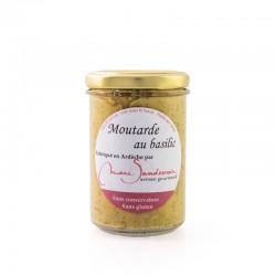 Moutarde au Basilic 200 g