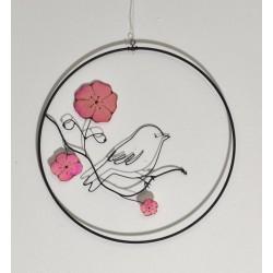Rue des arts - Oiseau rose...