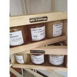 Coffret Miel des abeilles...