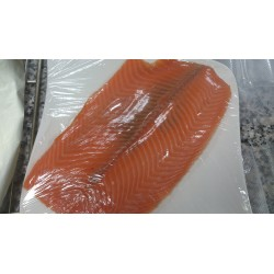 saumon fumé maison/kg